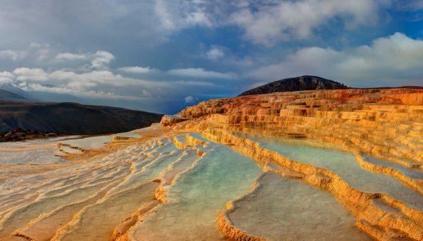 Badab Surt Mineral Springs