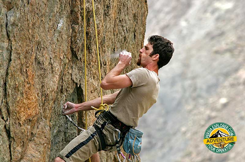 rock climbing in iran