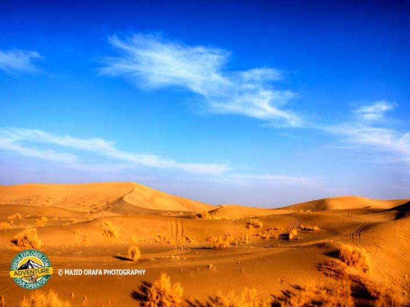 Sand Dunes of Varzaneh