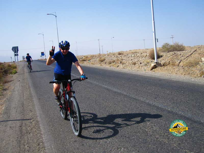 Adventure Biking Tour through Central Desert of Iran
